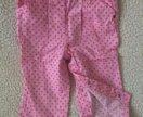 Новые штанишки 6-12 мес