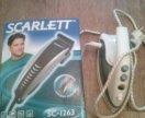 Утюг и машинка для стрижки волос