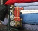 Шторы, покрывало, ковер, звонок, подушки в детскую