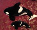 Мягкие игрушки Дельфины