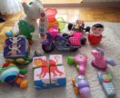 Много игрушек