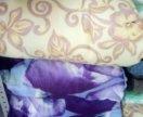 Одеяло синтепон и полушерстяные