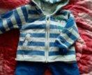 Детский утепленный спортивный костюм.