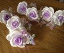Шпилька цветок