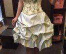 Вечернее выпускное пышное платье