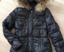 Пуховик Lawine 44 натуральный пух перо зимний