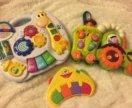3 развивающие музыкальные игрушки