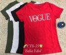 Новая красная футболка