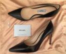 Новые туфли лодочки Prada