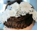 Новое свадебное украшение для волос👼