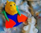 Снегурочка и игрушка совецкие
