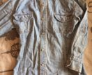 Джинсовая рубаха