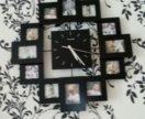Настенные фото часы