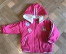 Курточка на девочку рост 86