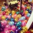 Куча разноцветных шаров