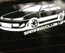 Наклейка samara club ufa