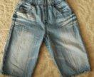 Джинсовые шорты, 2-4 года