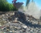 Строительный мусор на дорогу