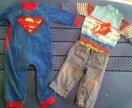 одежда детская пакетом 6-12мес