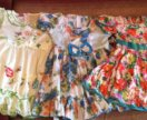 Яркие повседневные платья на девочку, рост 110-116