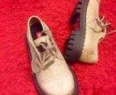 Новые крутые ботинки кожа!