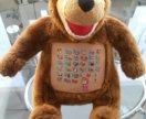 Мягкая игрушка Учим буквы и цифры Маша и Медведь