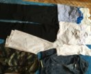 Брюки 158,рубашки и др от
