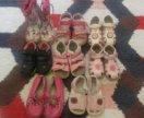 8 пар обуви 23-24 р-ра для девочки