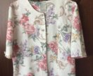 Элегантная блузка-жакетик 46-48разм