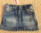 Новая джинсовая юбка kanz