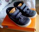 Кроссовки ботинки chicco 26 р. кожа синие
