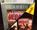 Rainbow Six Vegas 1 & 2 Xbox 360