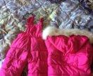 Зимний комплект для девочки