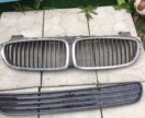 Ноздри капота и решетка BMW 7 E 65/66 рестайлинг