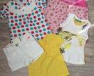 Летняя одежда на девочку 2-4 года