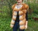 Жилеты из меха лисы