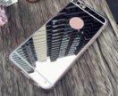 Новый зеркальный чехол на iPhone 7+