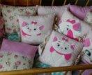 Бортики в кроватку с тканевыми завязками