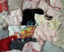 Вещи на девочку от рождения до года