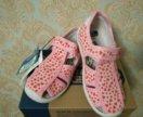 Новые текстильные сандалии