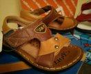 Новые кожаные сандалии Капитошка