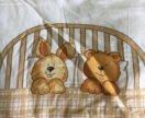 Бортики на кровать. Бамперы