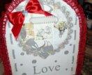 Коробка для даров свадебная