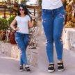 Новые джинсы с вышивкой размер 48-50