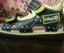 Детские сандали фирмы babu go из детского мира