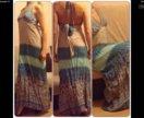 Новою длинное платье xs s m