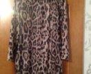 Платье (леопард) р.42