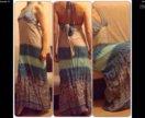 Новое длинное платье xs s m