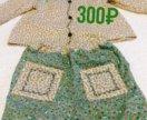 Блузка с шортами 80-86 см