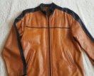 Кожаная куртка. 50 размер
